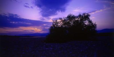 吉野川中流夕景
